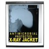 C-Line X-Ray Jackets with Antimicrobial Protection, Open Long Side, 12 1/4 X 10 1/2, 25/BX