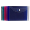 C-Line Poly XL Reusable Envelope, Ltr Size, Side Load, 1 Envelope (Color May Vary) (Set of 24 EA)