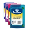 4 x 6 Index Card Case, Assorted, 1 Case (Color May Vary) (Set of 12 EA)