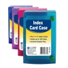 3 x 5 Index Card Case, 1 Case (Color May Vary) (Set of 24 EA)