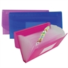 C-Line 13-Pocket Junior Size Expanding File, 1 File (Color May Vary) (Set of 6 EA)