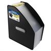 13-Pocket Vertical Expanding File, Letter Size, Black, 1/EA (Set of 2 EA)