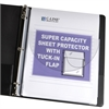 Super Capacity Sheet Protector with Tuck-In Flap, 11 x 8 1/2, 10/PK (Set of 2 PK)