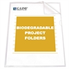 Biodegradable Project Folders, Reduced Glare, 11 x 8 1/2, 25/BX (Set of 2 BX)