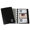 C-Line Binder Builder Business Card Holder, Junior, Black w/15 Pages, Holds 6 Cards/Page, 7 1/4 x 4 7/8, 1/EA (Set of 3 EA)
