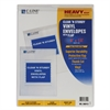 Clear 'N Sturdy Vinyl Envelopes with Flap, 9 x 12, 1/EA (Set of 50 EA)