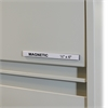 C-Line HOL-DEX Magnetic Shelf/Bin Label Holders, 1/2  Inch Magnetic Label Holder, 10/BX (Set of 2 BX)