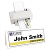 C-Line Inkjet/Laser Cardstock Name Tents, Scored, White, Large, 50/BX (Set of 2 BX)