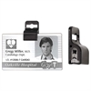 C-Line No-Punch Badge Attachment Clip, 20/PK (Set of 2 PK)
