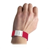 DuPont Tyvek Security Wristbands, Red, 100/PK (Set of 2 PK)