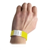 DuPont Tyvek Security Wristbands, Yellow, 100/PK (Set of 2 PK)