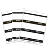 C-Line Inkjet/Laser Printer STAFF Name Badge Inserts, 4 x 3 on 8 1/2 x 11 Sheet, 240/BX