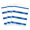 C-Line Inkjet/Laser Printer GUEST Name Badge Inserts, 4 x 3 on 8 1/2 x 11 Sheet, 240/BX