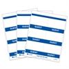 Inkjet/Laser Printer GUEST Name Badge Inserts, 4 x 3 on 8 1/2 x 11 Sheet, 240/BX