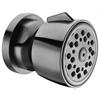 AB6101-BN Brushed Nickel Modern Round Adjustable Shower Body Spray