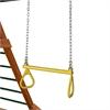 "21"" Trapeze Bar w/ Rings - Yellow"