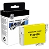 Compatible Epson Stylus NX330  NX430; Workforce 60  435  520  545  630  633  635  645  840  845 High Yield Yellow Ink (Remanufactured) (OEM# T126420) (525 Yield)
