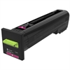 Lexmark CS820 CX820 CX825 CX860 Magenta Return Program Toner Cartridge for US Government (8000 Yield) (TAA Compliant Version of 72K10M0)