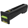 Lexmark CS820 CX820 CX825 CX860 Yellow Return Program Toner Cartridge for US Government (8000 Yield) (TAA Compliant Version of 72K10Y0)
