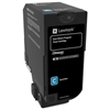 Lexmark CS720 CS725 CX725 Cyan Return Program Toner Cartridge for US Government (3000 Yield) (TAA Compliant Version of 74C10C0)