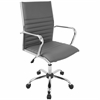 Master Contemporary Office Chair In Grey