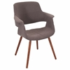 Vintage Flair Chair, Walnut / Medium Brown