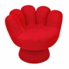 LumiSource Mitt Chair, Red