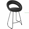 Posano Contemporary Counter Stool in Black