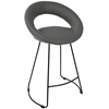 Posano Contemporary Counter Stool in Grey