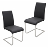 Foster Dining Chair  Black, Set of 2