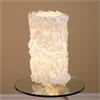 LumiSource Lace Table Lamp, Cream
