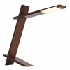 LumiSource Plank Lamp, Walnut