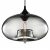 LumiSource Torus Round Pendant, Smoke