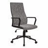 LumiSource Congress Height Adjustable Office Chair with Swivel, Black