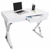 LumiSource Luster Desk, White