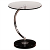 C End Table, Glass