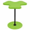 Clover End Table, Green