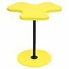 LumiSource Clover End Table, Yellow