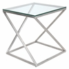 4Z End Table, Clear
