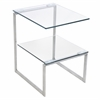 LumiSource 6G End Table, Clear