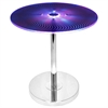 LumiSource Spyra Light Up End Table, Multicolor
