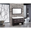 "MTD Vanities Greece 48"" Single Sink Bathroom Vanity Set, Espresso"