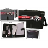Bond Street ALL-IN-ONE Nylon Tablet-iPad Organizer with Writing Pad