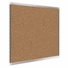 Quartet Prestige 2 Magnetic Cork Bulletin Board, 8' x 4', Silver Finish Aluminum Frame