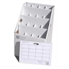 SlantFile-16 Upgright Rolled Storage, 16 slots