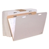 "VFolder37, Vertical Flat Folder, Stores Flat Items Up to 24""x36"", 8/PK"