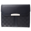 BUGATTI WRITTING CASE, 1 x 9.5 x 7.25, Black