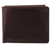 Wallet, 3/4 x 3-1/2 x 4-1/4, Mahogany