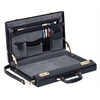 Attache case, 2-1/2 x 12 x 16-1/2, Black