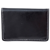 Bugatti Business card case, 1/4 x 2-1/2 x 4, Black